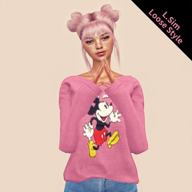 Sims 4 Loose style top at L.Sim