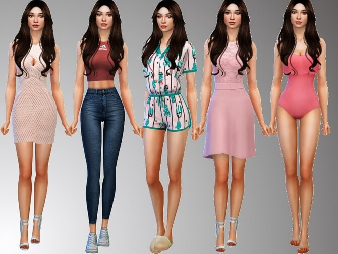 Haylee Braden by Mini Simmer at TSR image 103 670x503 Sims 4 Updates