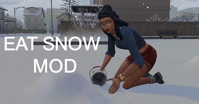 Eat Snow Mod