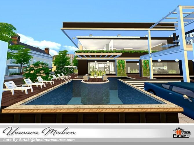 Usanara Modern house by autaki at TSR image 1032 670x503 Sims 4 Updates
