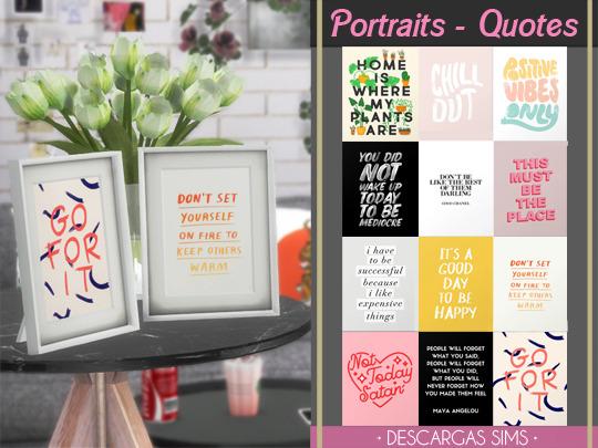 Portraits - Quotes