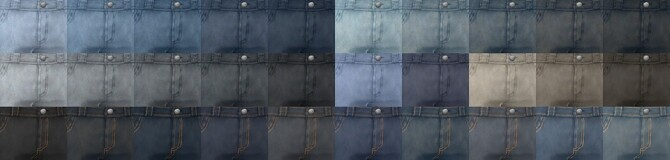 Sims 4 Plain Jeans + rolled up version at Simsontherope
