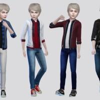 Quinn Hoodie Shirt Kids by McLayneSims