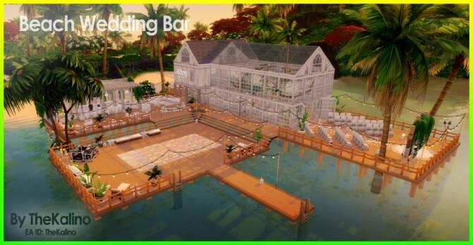 Beach Wedding Bar at Kalino image 10414 670x347 Sims 4 Updates