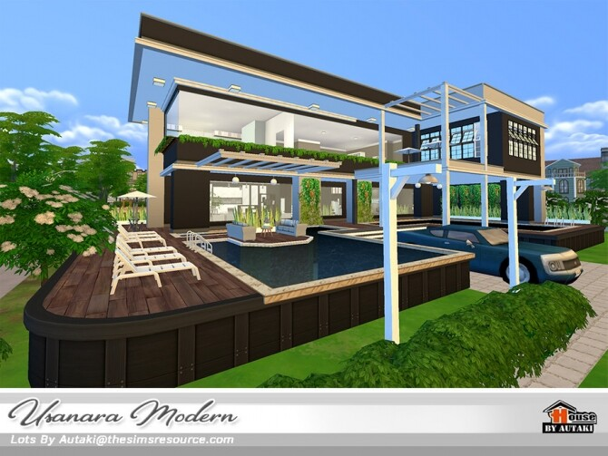Usanara Modern house by autaki at TSR image 1043 670x503 Sims 4 Updates