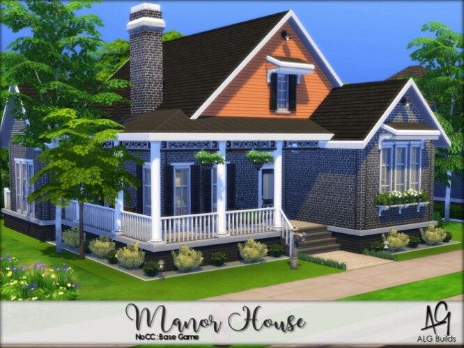 Manor House by ALGbuilds