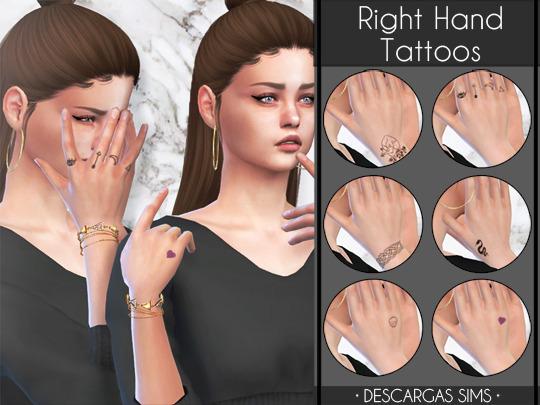 Right Hand Tattoos