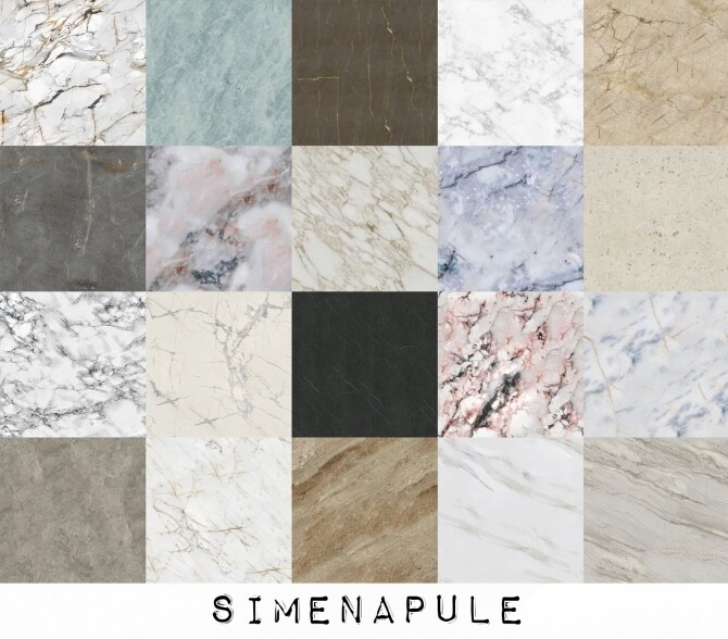 Luxury Floor Marble 02 at Simenapule image 10517 670x588 Sims 4 Updates