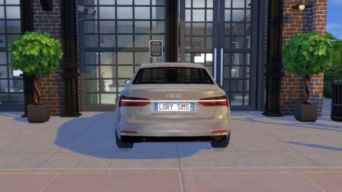Sims 4 Audi A6 at LorySims