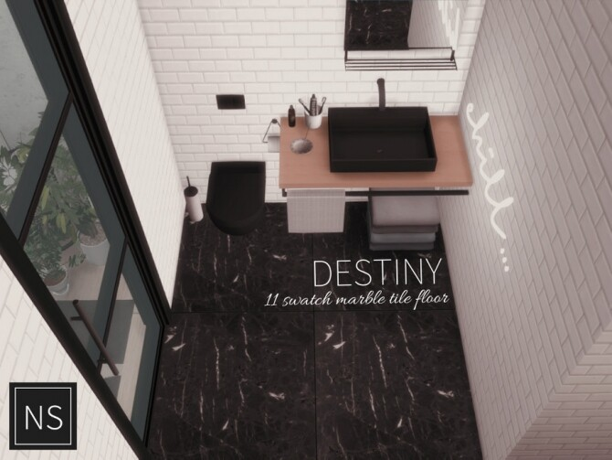 Destiny Marble Floor by networksims at TSR image 10520 670x503 Sims 4 Updates