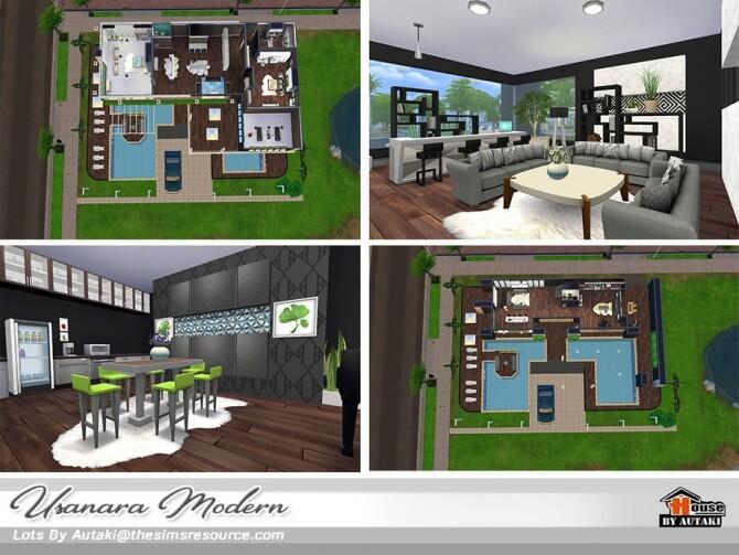 Usanara Modern house by autaki at TSR image 1053 670x503 Sims 4 Updates