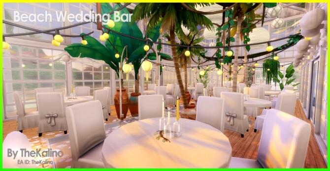 Beach Wedding Bar at Kalino image 10613 670x347 Sims 4 Updates