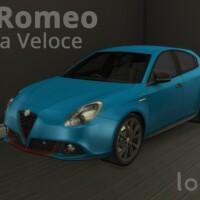 Alfa Romeo Giulietta Veloce by LorySims