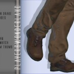 Nathan Drake Shoes by PlayersWonderland