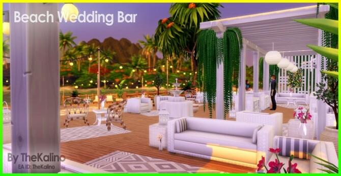 Beach Wedding Bar at Kalino image 10712 670x347 Sims 4 Updates
