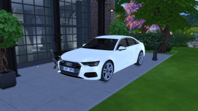 Audi A6 at LorySims image 10718 670x377 Sims 4 Updates