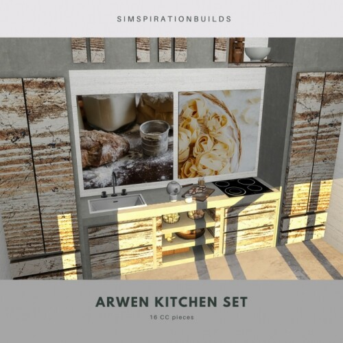 Arwen kitchen set