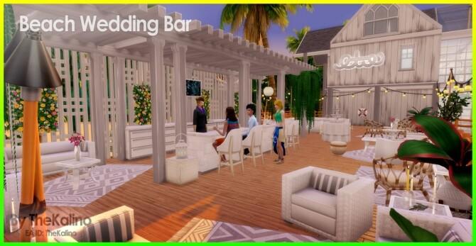 Beach Wedding Bar at Kalino image 10813 670x347 Sims 4 Updates