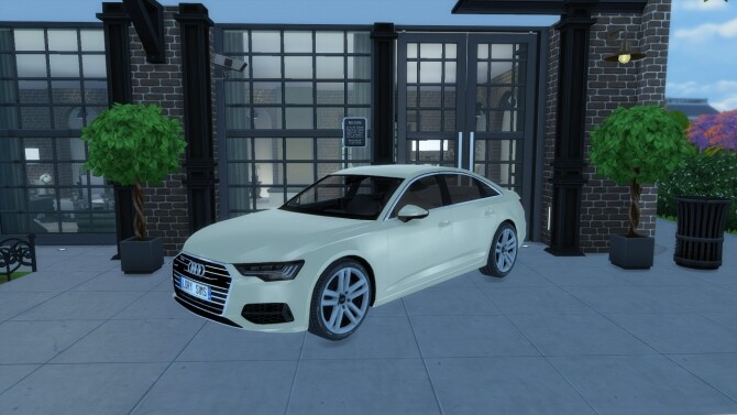 Audi A6 at LorySims image 10819 670x377 Sims 4 Updates