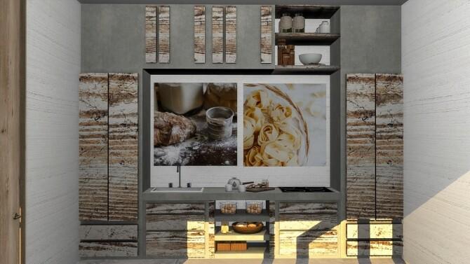 Arwen kitchen set at Simspiration Builds image 1082 670x377 Sims 4 Updates
