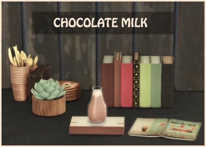 Sims 4 CHOCOLATE MILK at Icemunmun