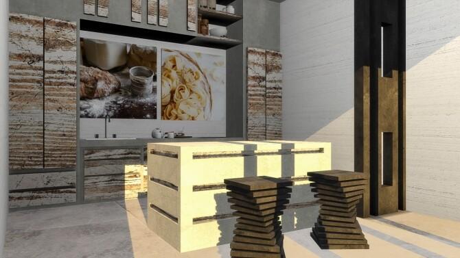 Arwen kitchen set at Simspiration Builds image 1092 670x377 Sims 4 Updates