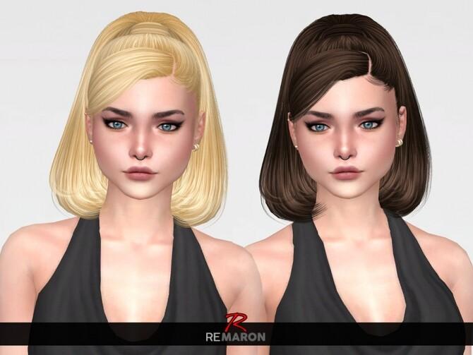 Sims 4 Bella Hair Retexture by remaron at TSR