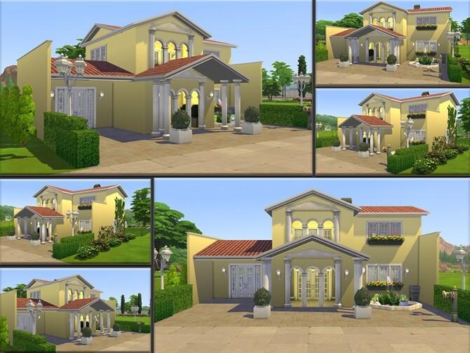 Sims 4 MB Villa Elenore by matomibotaki at TSR