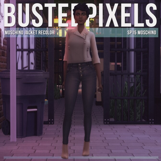 Sims 4 Jacket Recolor at Busted Pixels