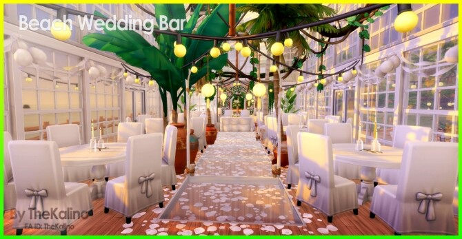 Beach Wedding Bar at Kalino image 11017 670x347 Sims 4 Updates