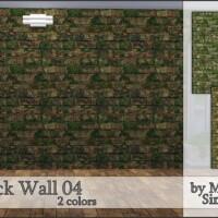 M90 Brick Wall 04 by Mircia90