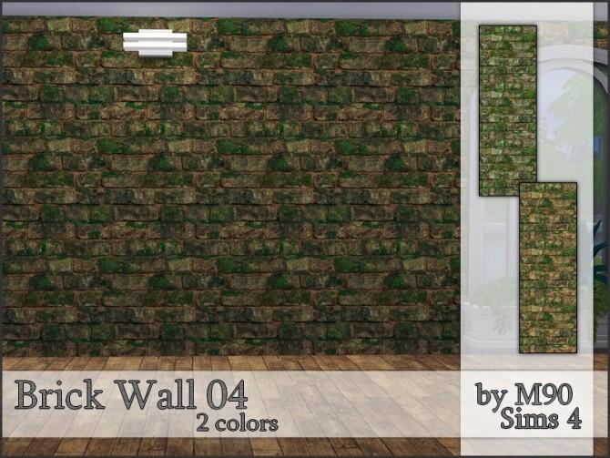 M90 Brick Wall 04 by Mircia90 at TSR image 1107 670x503 Sims 4 Updates