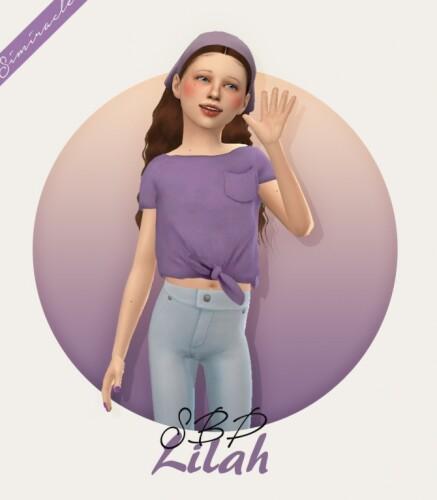 Sketchbookpixels Lilah Top Kids Version 3T4