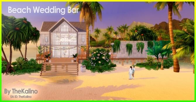 Beach Wedding Bar at Kalino image 11117 670x347 Sims 4 Updates