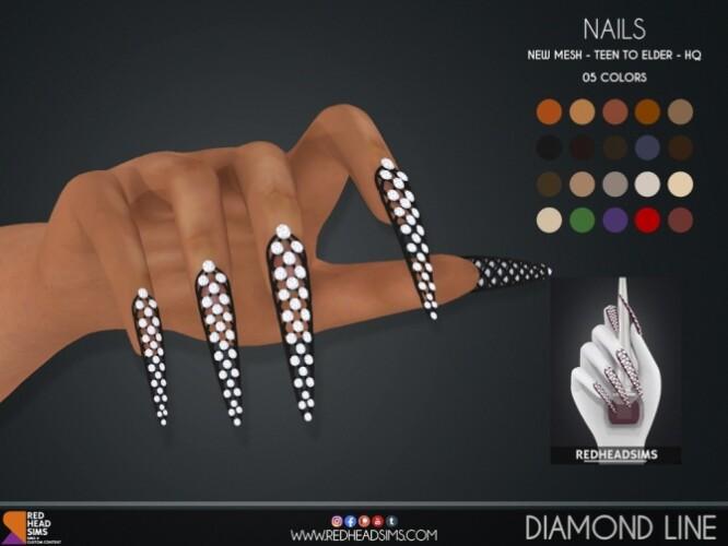 DIAMOND LINE NAILS