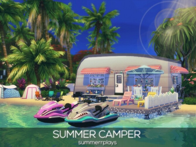 Sims 4 Summer Camper by Summerr Plays at TSR