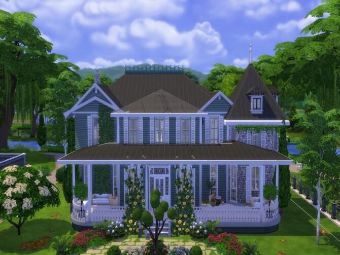 Shorewood house by LJaneP6 at TSR image 1119 670x503 Sims 4 Updates