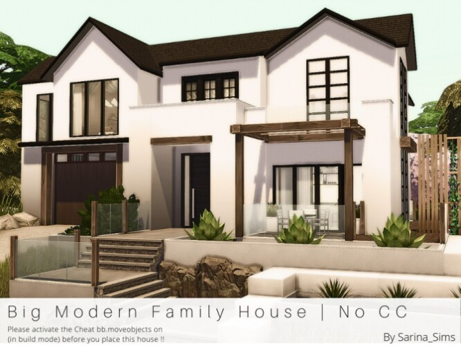 Big Modern Family House No CC by Sarina_Sims