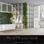 Pearl Mosaic Wall by Caroll91