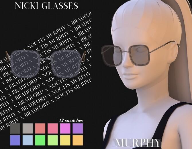 Nicki Glasses at MURPHY image 11318 670x519 Sims 4 Updates