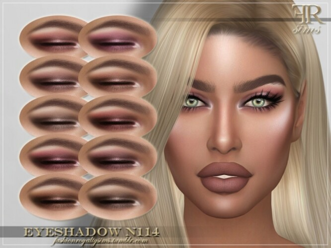 FRS Eyeshadow N114 by FashionRoyaltySims