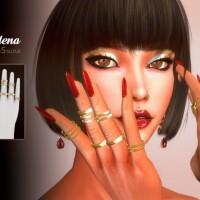 Adena Rings by Suzue