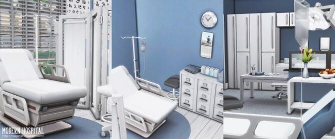 Modern hospital at Helga Tisha image 1141 670x279 Sims 4 Updates