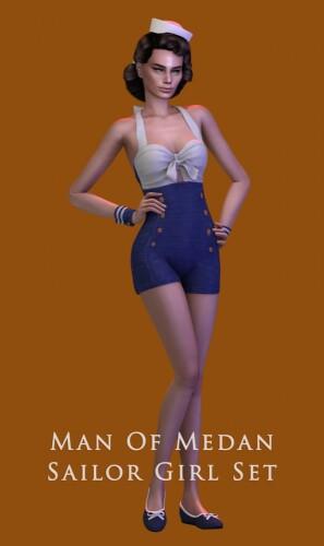 Man Of Medan Sailor Girl Set