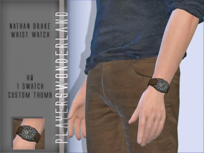Nathan Drake Wrist Watch by PlayersWonderland
