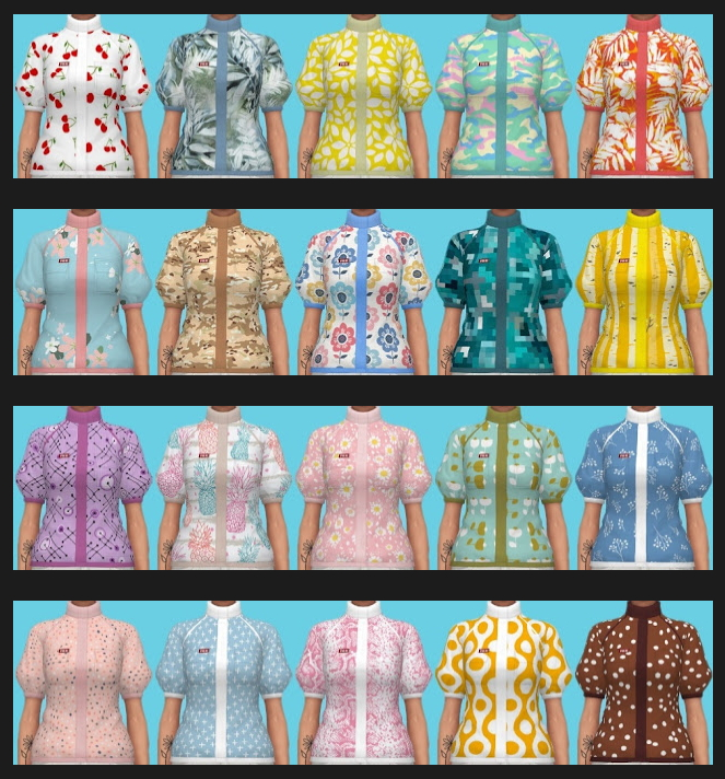 Eco Lifestyle Recolors Shirt Nr. 7 at Annett's Sims 4 Welt image 11515 Sims 4 Updates
