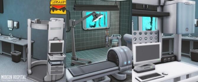 Modern hospital at Helga Tisha image 1152 670x279 Sims 4 Updates
