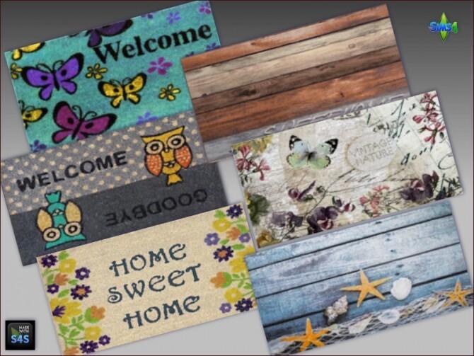 Door mats and decorative signs at Arte Della Vita image 1161 670x503 Sims 4 Updates