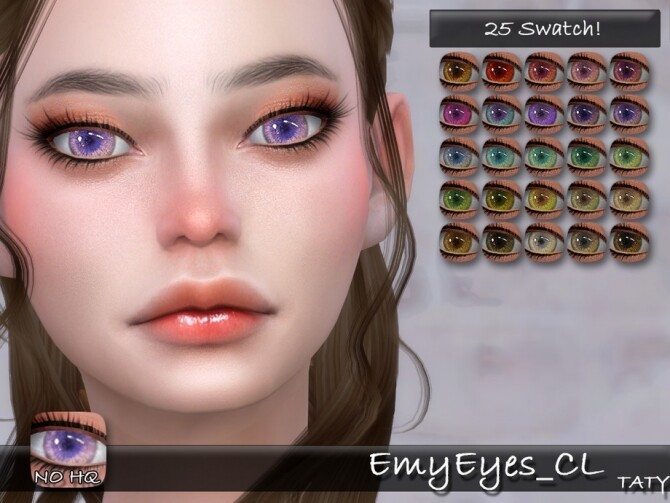 Emy Eyes CL by tatygagg at TSR image 11611 670x503 Sims 4 Updates