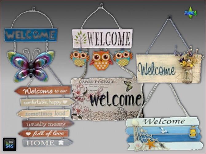 Door mats and decorative signs at Arte Della Vita image 1171 670x503 Sims 4 Updates